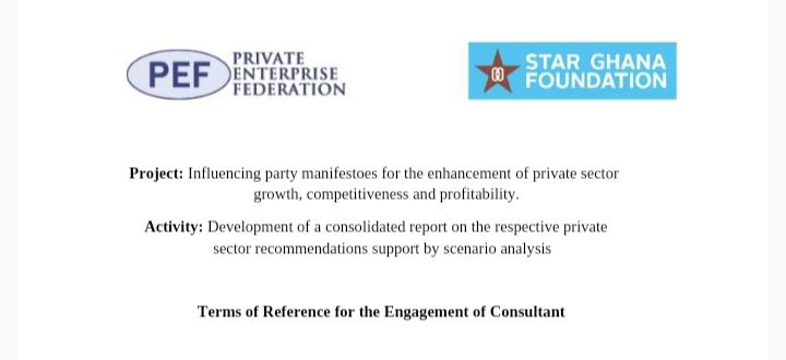 Terms of Reference for the Engagement of Consultant