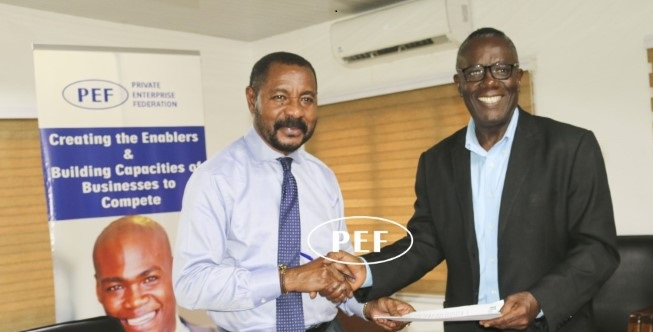 Kasa Initiative Ghana has signed an MoU with Private Enterprise Federation