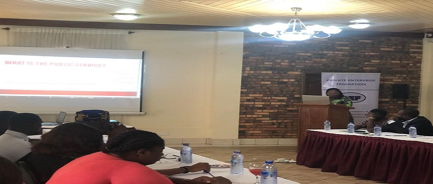 PEF ENGAGES ADMINSITRATIVE AGENCIES ON SERVICE DELIVERY CHARTERS